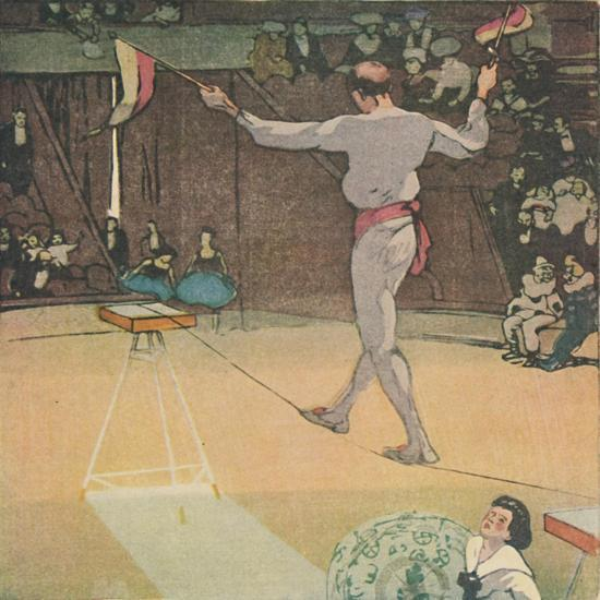 'The Tight-Rope Dancer', 1919-Mabel Alington Royds-Giclee Print