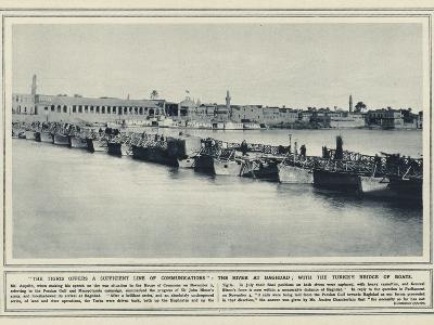 The Tigris Offers a Sufficient Line of Communications--Photographic Print