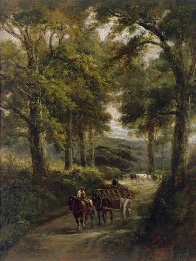 The Timber Wagon-Henry Earp-Giclee Print