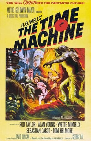 The Time Machine, From Left Center: Yvette Mimieux, Rod Taylor, 1960