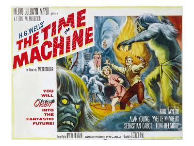 The Time Machine, Yvette Mimieux, Rod Taylor, 1960--Photo