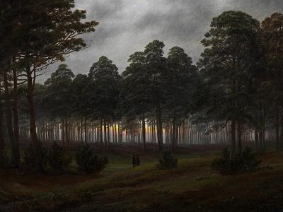 The Times of Day: the Evening, 1821-1822-Caspar David Friedrich-Giclee Print