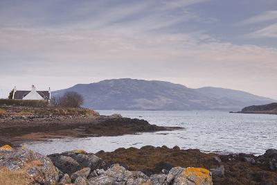 The Tiny Harbour of Ornsay on the Isle of Skye, Inner Hebrides, Scotland, United Kingdom, Europe-Julian Elliott-Photographic Print
