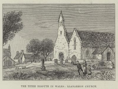 The Tithe Dispute in Wales, Llanarmon Church--Giclee Print