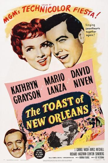 The Toast of New Orleans--Art Print