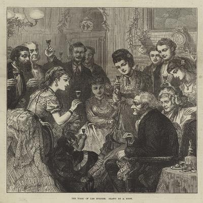 The Toast of the Evening--Giclee Print