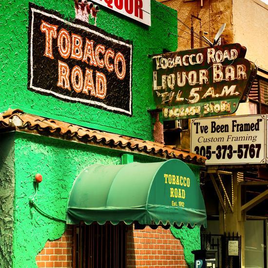 The Tobacco Road - Miami's Oldest Bar - Florida - USA-Philippe Hugonnard-Photographic Print