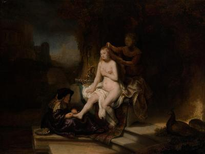 The Toilet of Bathsheba, 1643-Rembrandt van Rijn-Giclee Print