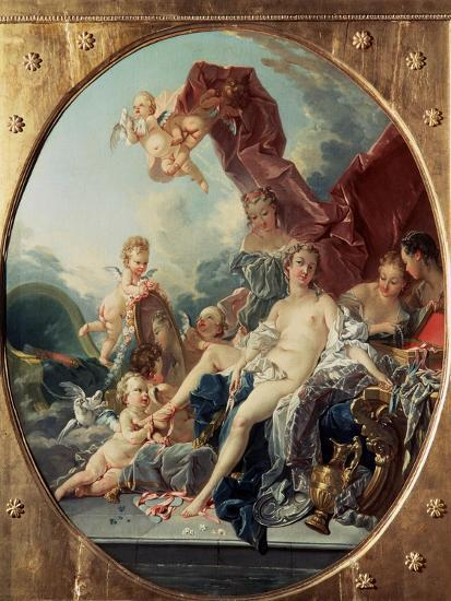 The Toilet of Venus, after 1743-Fran?ois Boucher-Giclee Print