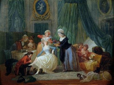 The Toilet-Francois Louis Joseph Watteau-Giclee Print