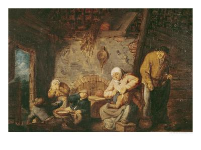 The Toilet-Adriaen Jansz^ Van Ostade-Giclee Print