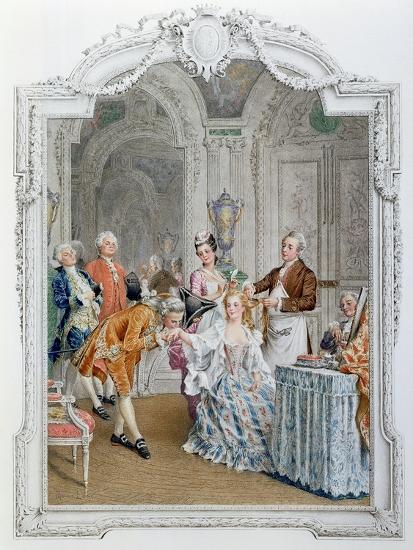 The Toilette, Illustration from 'La Vie Parisienne', C.1890-Maurice Leloir-Giclee Print