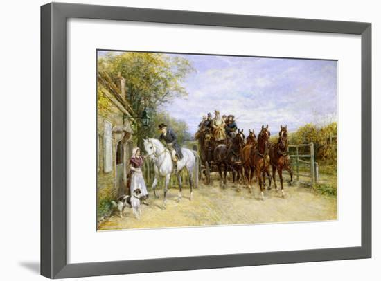The Toll Gate-Heywood Hardy-Framed Giclee Print