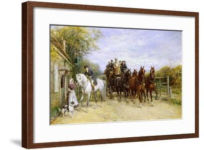 The Toll Gate-Heywood Hardy-Framed Giclee Print