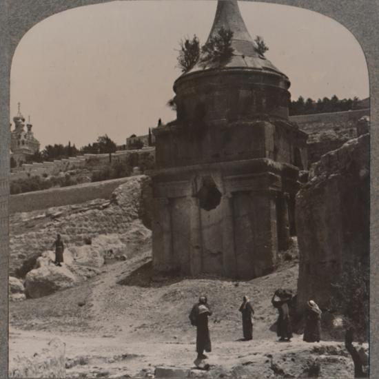 'The Tomb of Absalom in the Valley of Jehosaphat', c1900-Unknown-Photographic Print