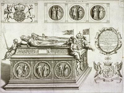The Tomb of Henry VII and Queen Elizabeth in the King's Chapel in Westminster Abbey, London, C1750--Giclee Print