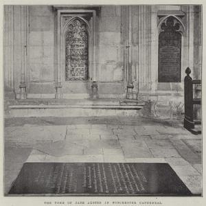 The Tomb of Jane Austen in Winchester Cathedral