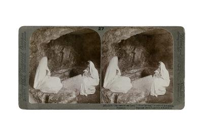 The Tomb of Jesus, Outside Jerusalem, Palestine, 1904-Underwood & Underwood-Giclee Print