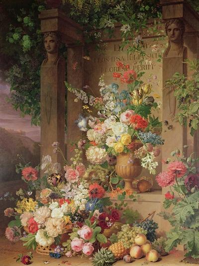 The Tomb of Julie, 1803-Jan Frans van Dael-Giclee Print