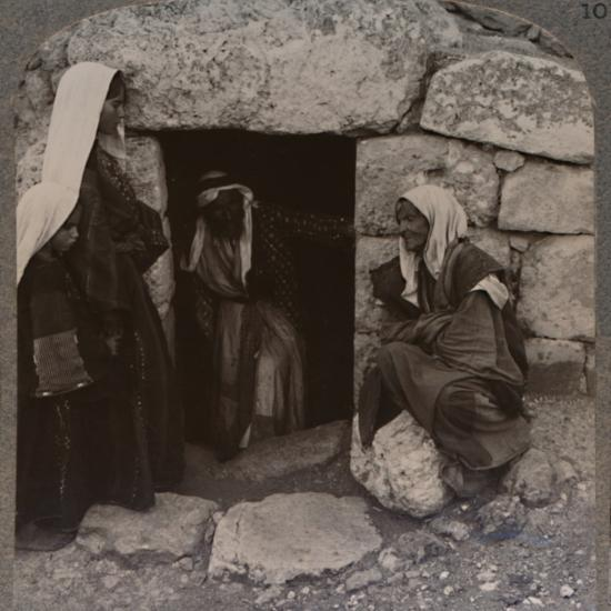 'The Tomb of Lazarus, Bethany', c1900-Unknown-Photographic Print