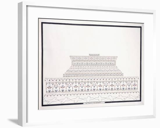 The Tomb of the Emperor, C. 1815--Framed Giclee Print