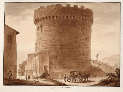 The Tomb of the Horatii and Curiatii, 1833-Agostino Tofanelli-Giclee Print