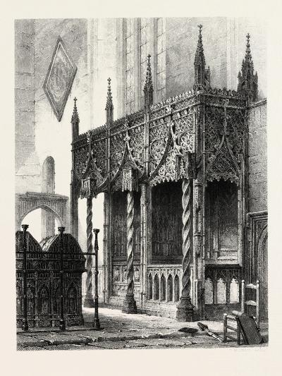 The Tomb of the Howards at Arundel Church, UK., 19th Century--Giclee Print