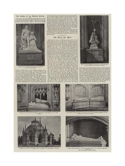 The Tombs of the Orleans Family--Giclee Print