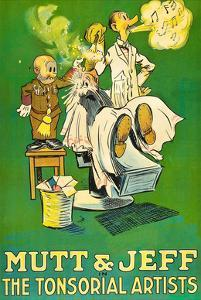 The Tonsorial Artists, Mutt and Jeff