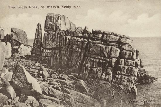 The Tooth Rock, St Mary'S, Scilly Isles--Photographic Print