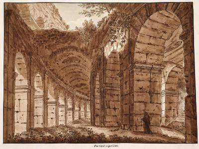 The Top Storey of the Colosseum, 1833-Agostino Tofanelli-Giclee Print
