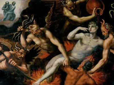 The Torment of Hell--Giclee Print