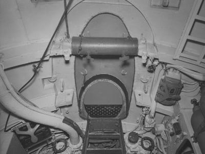 The Torpedo Loading Hatch in the after Torpedo Room on the Captured German Submarine U505--Photographic Print