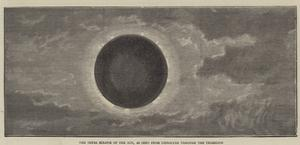 The Total Eclipse of the Sun, as Seen from Gibraltar Through the Telescope