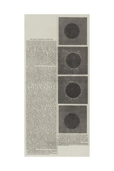 The Total Eclipse of the Sun--Giclee Print