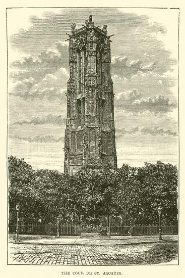 The Tour De St Jacques--Giclee Print