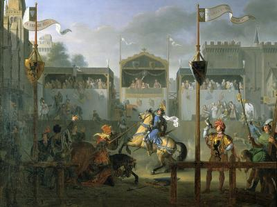 The Tournament, 1812-Pierre Henri Revoil-Giclee Print