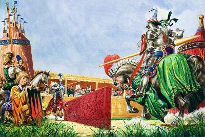 The Tournament-Peter Jackson-Giclee Print
