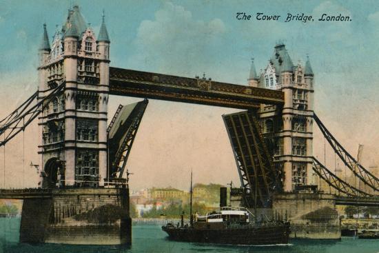 'The Tower Bridge', 1915, (c1900-1930)-Unknown-Giclee Print