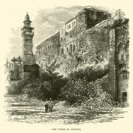 The Tower of Antonia--Giclee Print