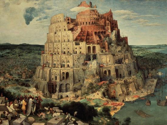 The Tower of Babel, 1563-Pieter Bruegel the Elder-Giclee Print