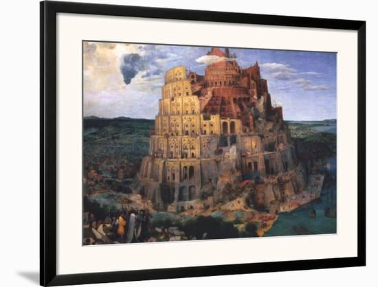 The Tower of Babel, c.1563-Pieter Bruegel the Elder-Framed Art Print