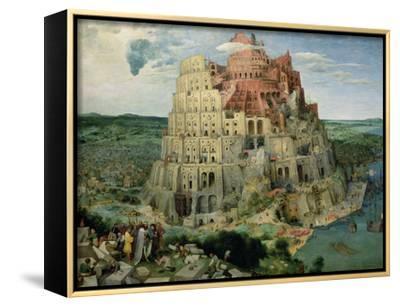 The Tower of Babel, c.1563-Pieter Bruegel the Elder-Framed Canvas Print