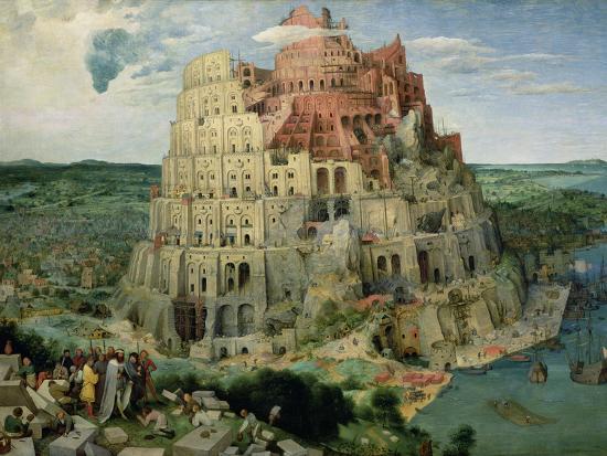 The Tower of Babel, c.1563-Pieter Bruegel the Elder-Premium Giclee Print