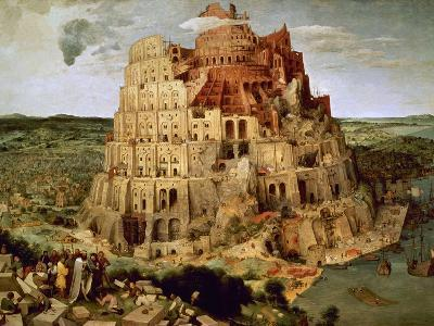 The Tower of Babel-Pieter Bruegel the Elder-Giclee Print