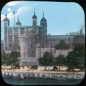 The Tower of London at Night, Late 19th or Early 20th Century