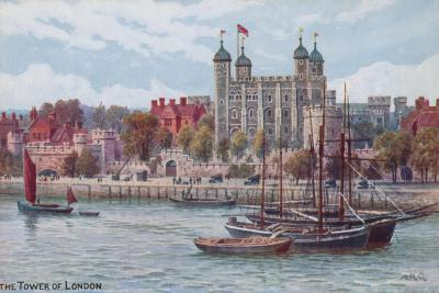 The Tower of London-Alfred Robert Quinton-Giclee Print