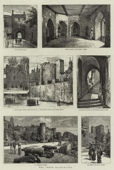 The Tower of London--Giclee Print