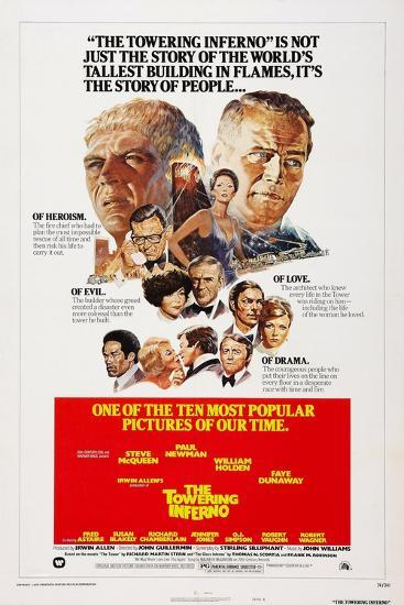 The Towering Inferno, 1974--Art Print