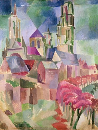The Towers of Laon, 1911-Robert Delaunay-Giclee Print
